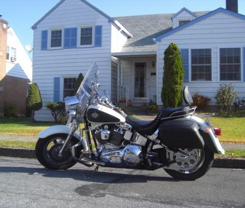 Harley Davidson Fatboy 2001 ( France dpt 14)