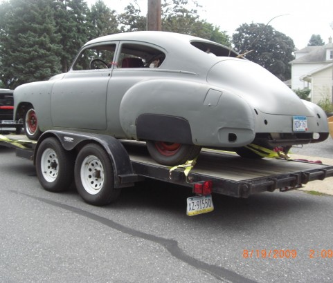 Chevrolet Fleetline 1950 ( France dpt 13)