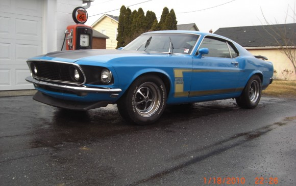 Ford Mustang Mach 1 1970 ( France dpt 36)