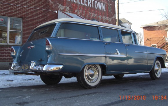 Chevrolet bel air wagon 1955 ( France dpt 14)