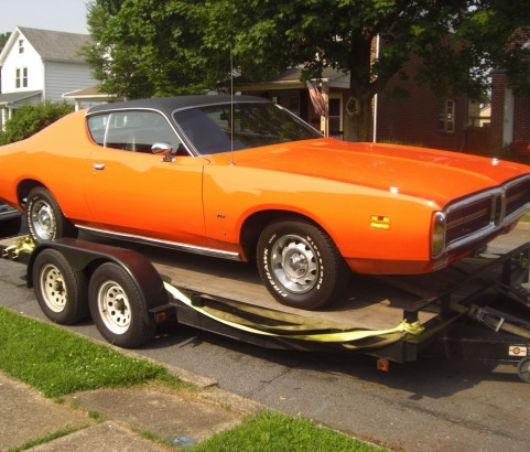 Dodge charger 1971 ( France dpt 84)