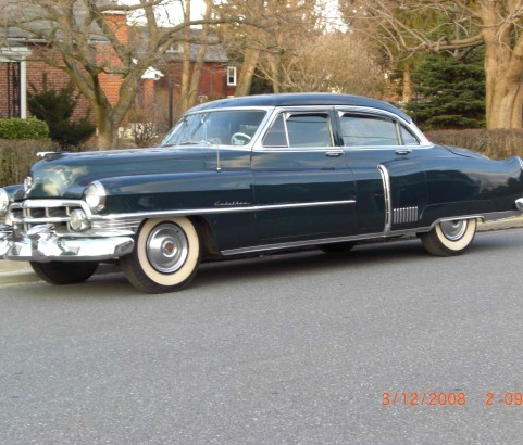 Cadillac Fleetwood 1950 ( France dpt 69)