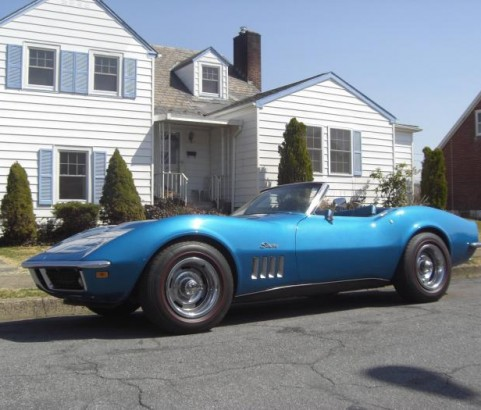 Chevrolet Corvette convertible 427ci 1969 ( France dpt 16)