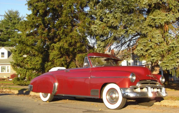 Chevrolet de luxe convertible 1949 ( France dpt 44)