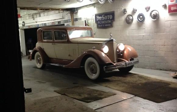 Packard 1101 club sedan 1934 ( France dpt 35)