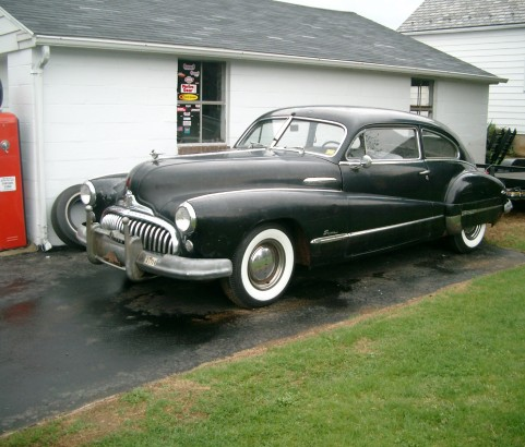 Buick super 50 Fastback 1948 ( Danemark)