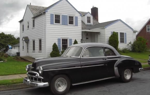 Chevrolet coupe 1949 ( Grandson, Suisse)