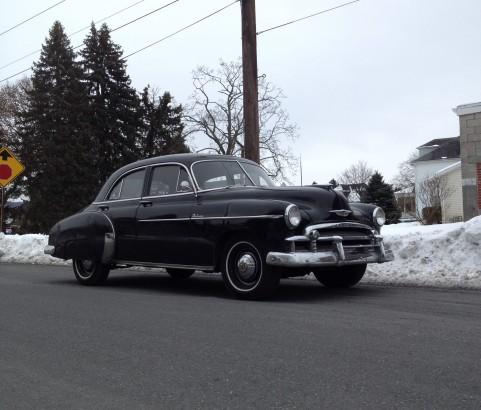 Chevrolet de luxe sedan 1950 ( France dpt 06)