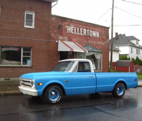 Chevrolet C10 Pick-up 1968 ( France dpt 57)