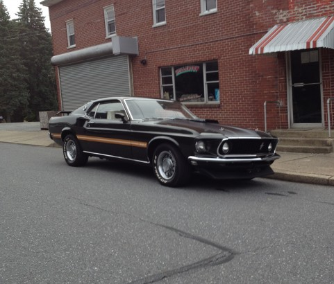 Ford Mustang Mach 1 SCJ 1969 ( France dpt 45)