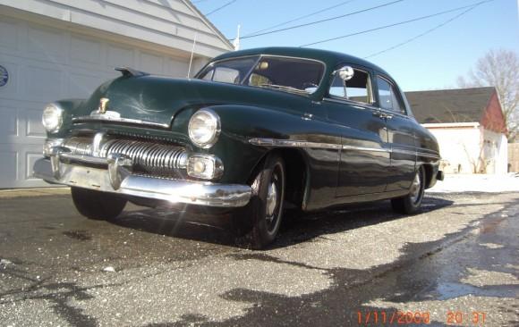 Mercury M74 sedan 1950 ( France dpt 14)