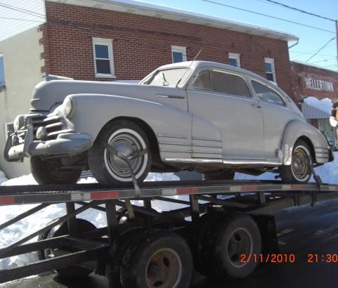 Chevrolet aerosedan 1948 ( France dpt 18)