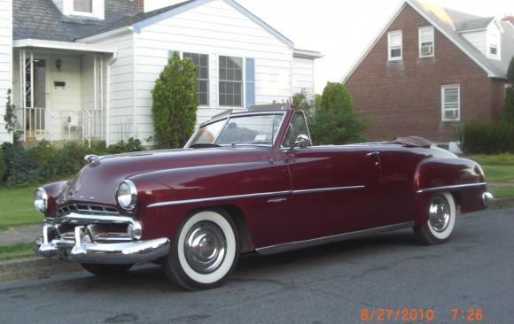 Dodge Coronet convertible 1952 ( France dpt 56)