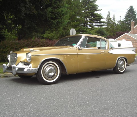 Studebaker Golden Hawk 1957 ( France dpt 34)