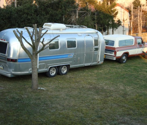 Airstream Overlander 1975 ( France dpt 42)