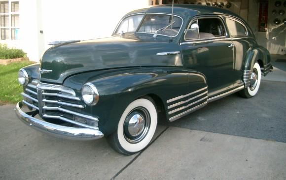 Chevrolet fleetmaster 1948 ( France dpt 49)