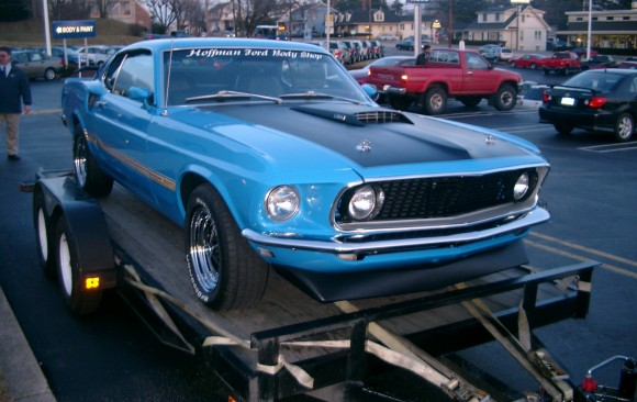 Ford Mustang Mach 1 1969 ( France dpt 13)