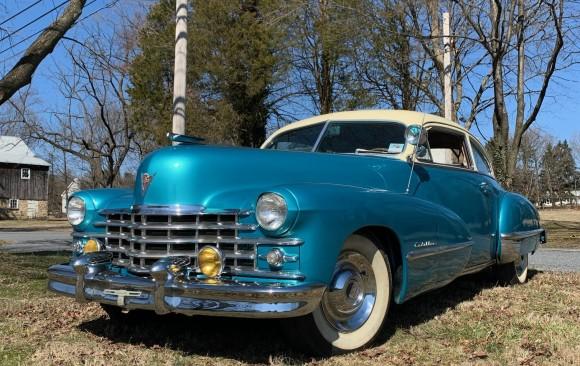 Cadillac serie 62 sedanette 1947 ( Francfort , Allemagne)