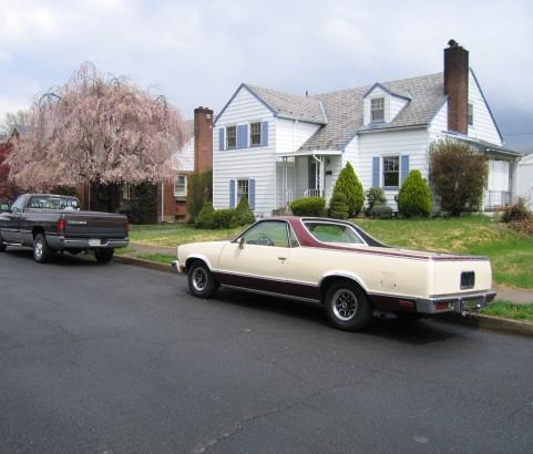 Chevrolet el camino classic 1980 ( France dpt 42)
