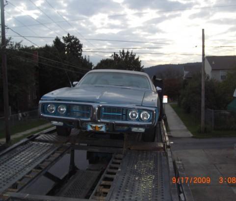 Dodge charger 1973 ( France dpt 51)