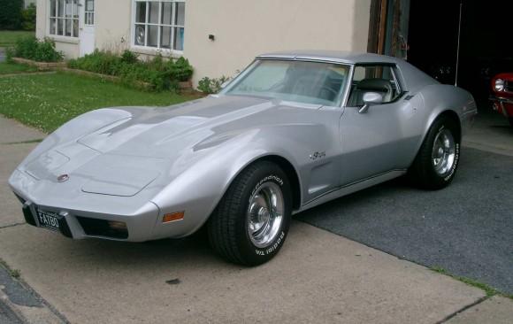 Chevrolet Corvette 1975 ( France dpt 78)
