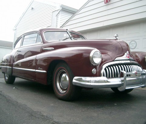 Buick super sedanette 1948 ( France dpt 58 )