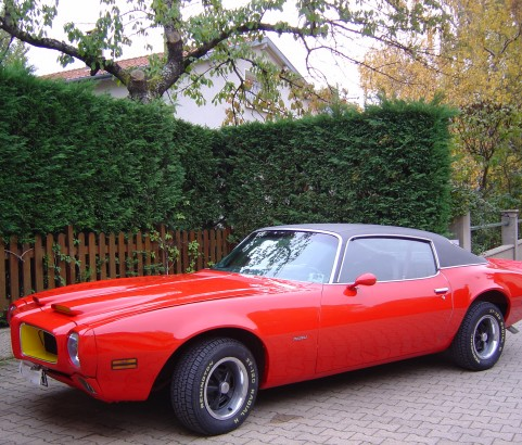 Pontiac Firebird 350 1970 ( France dpt 57)