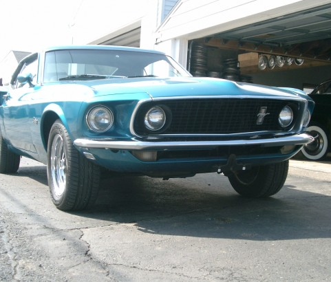 Ford Mustang Fastback 1969 ( France dpt 03)