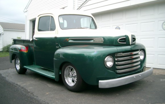 Ford F1 Pick-up 1950 ( France dpt 74)