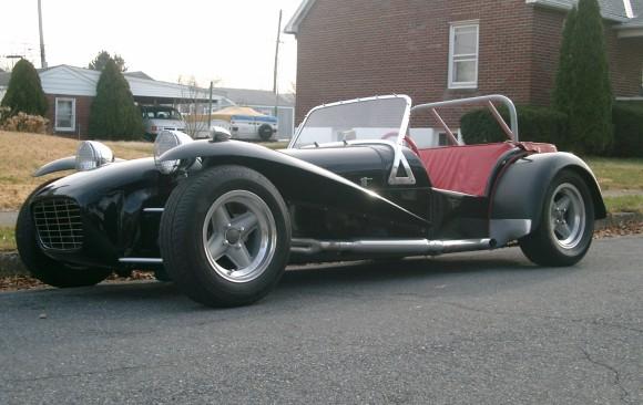 Lotus seven 1962 ( France dpt 38)