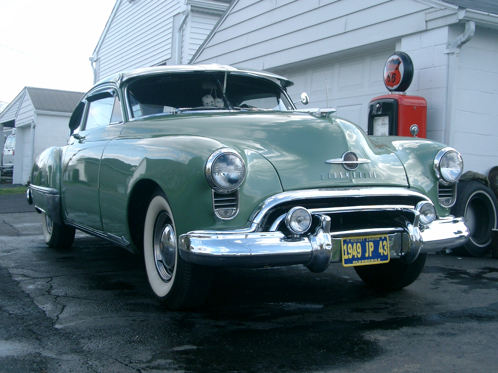 Oldsmobile 98 Fastback 1949 American Cars And Parts