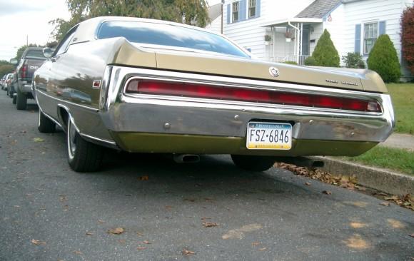Chrysler 300 coupe 1970 ( France dpt 42)