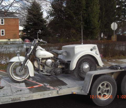 Harley Davidson Servicar 1966 ( France dpt 41)