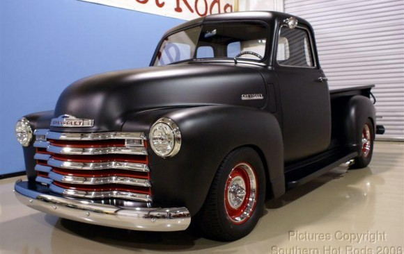 Chevrolet 3100 Pick-up Rod 1950 ( France dpt 94)
