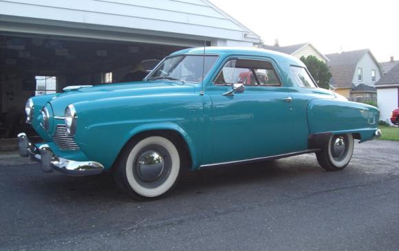 Studebaker Commander coupe 1951 ( France dpt 69)