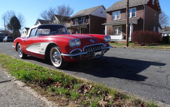 Chevrolet corvette 1960  ( France dpt 69)