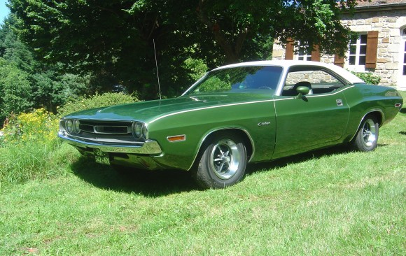Dodge Challenger 1971 ( France dpt 07)