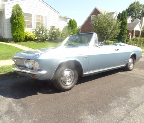 Chevrolet Corvair Corsa  turbo convertible 1965 ( Bruxelles, Belgique)