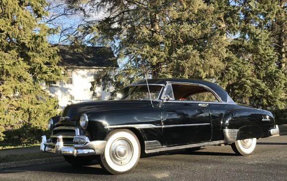Chevrolet Styleline de luxe hardtop coupe 1951 ( France dpt 55)