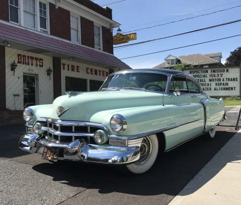Cadillac coupe de ville 1952 ( Brisbane, Australie)