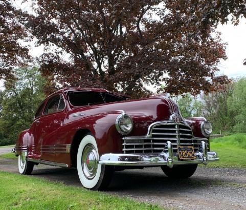 Pontiac Streamliner sedanette 1946 ( Carmel, Indiana)