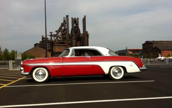 De Soto Firedome hardtop coupe 1955 ( Bekhenam, UK)