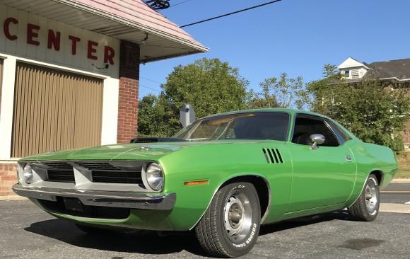 Plymouth Barracuda 1970 ( France dpt 81)