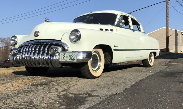 Buick special de luxe sedan 1950 ( France dpt 31)