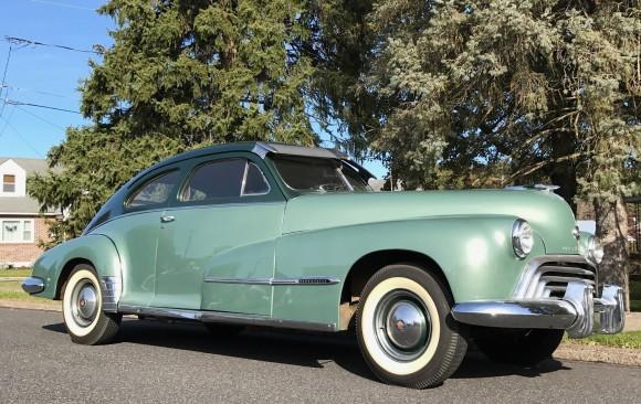 Oldsmobile 78 sedanette 1948 ( France dpt 31 )