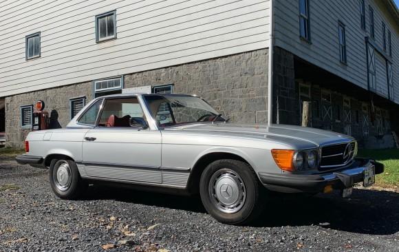 Mercedes 450SL 1975 ( France dpt 69)