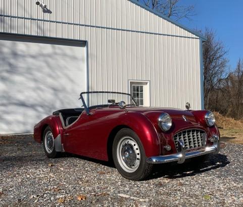 Triumph TR3A  1959 ( France dpt 21)