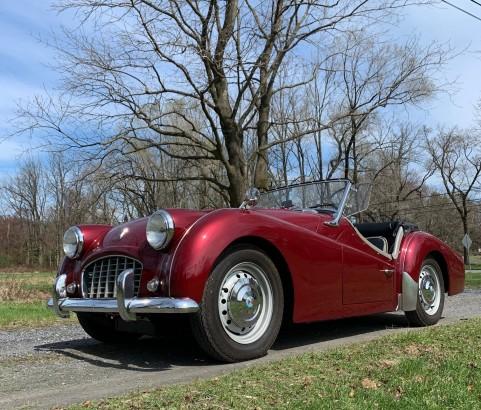 Triumph TR3A 1959 ( Eliot, MAINE)
