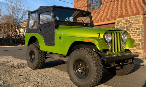 Jeep CJ5 1973 ( France DPT 13)