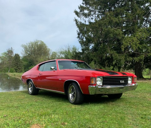 Chevrolet Chevelle SS Tribute 1972 ( France dpt 74)
